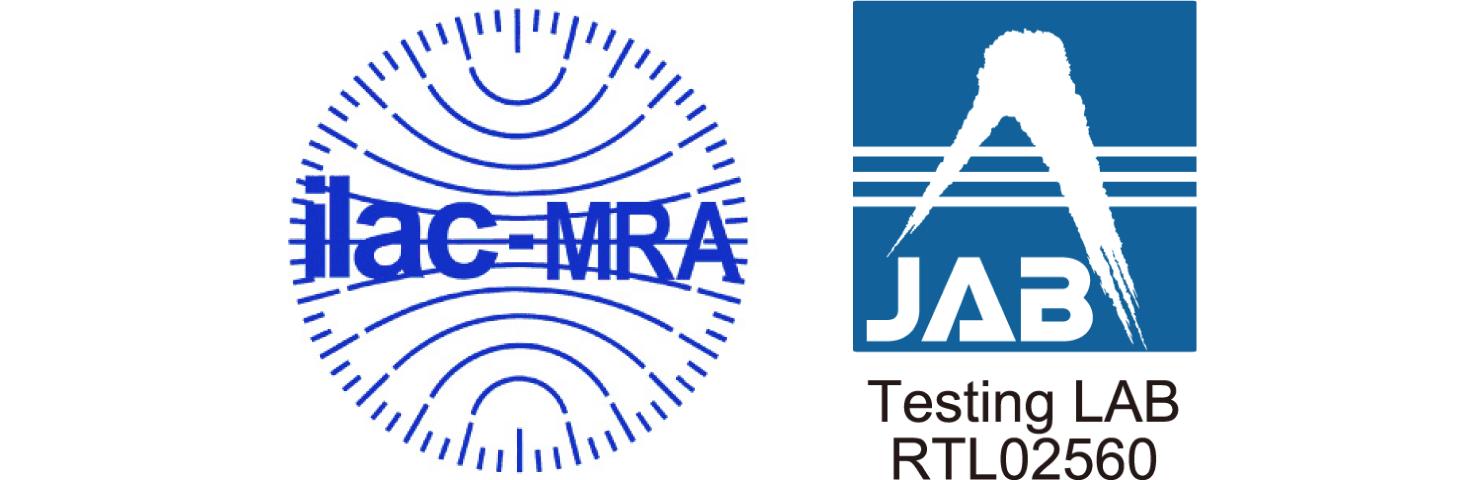 ISO/IEC17025認定証