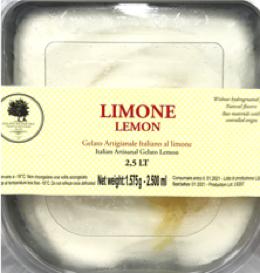 ジェラート レモン